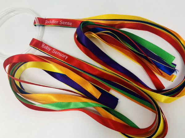 Multi-Coloured Ring-Handled Ribbons